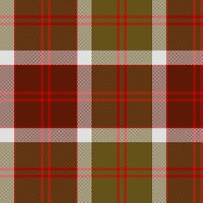 Bannockbane trade tartan - red and brown