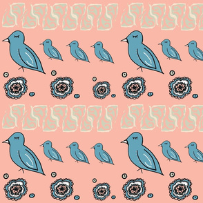 Boho Dream Birds
