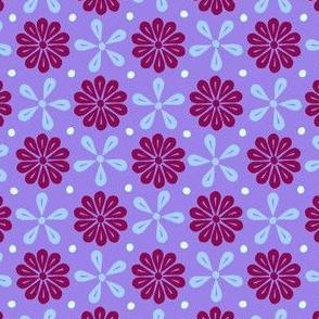Peoria La - Flowers (Violet)