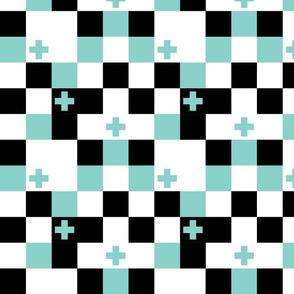 SquareCross Aqua4