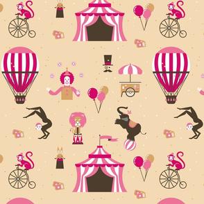 Carnival sunday pink