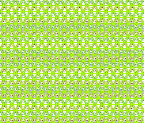 Pepperoni pizza slice neon green fabric space panda for Space pizza fabric