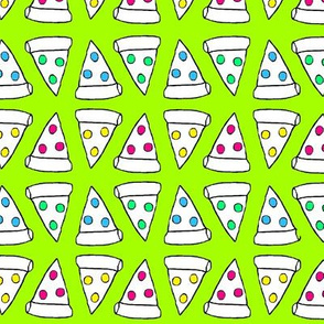 Pizza fabric wallpaper gift wrap spoonflower for Space pizza fabric