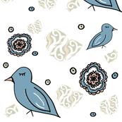 Boho Birds Scrapbook