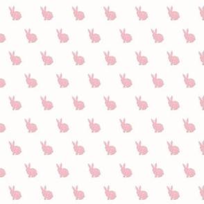 mini pink bunny