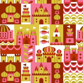 Block castles warm