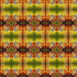Yellow Butcher Plaid