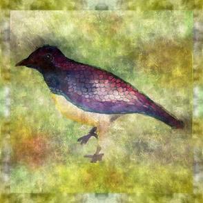 Watercolor Jaybird