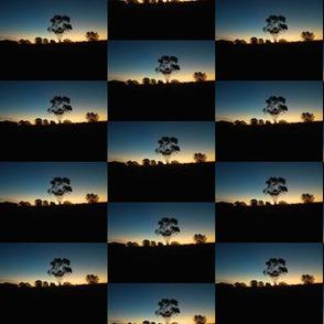 Sunset Skyline Checkerboard (Ref. 1805 )