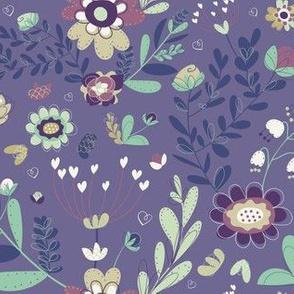 Purple & Sage Garden