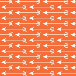 arrows on tangerine