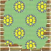 Brick Wall Flower