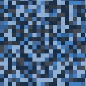 Pixel squares - water