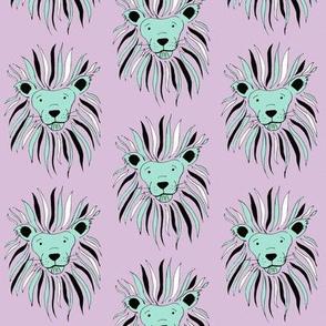 Lion's Mane on Lavender