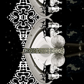 Spooks Border design