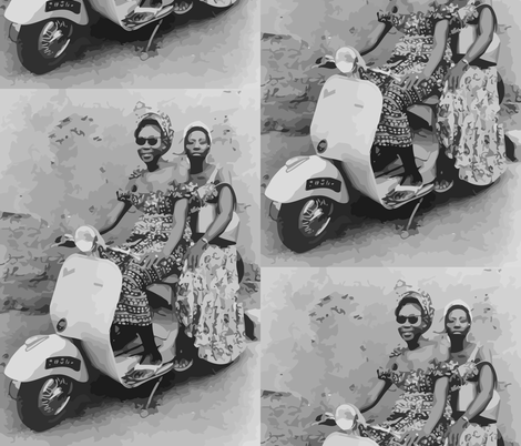 West African Lady Bikers