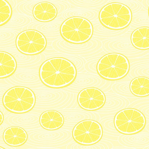 a sea of lemonade