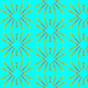Block Print   sun rays 1
