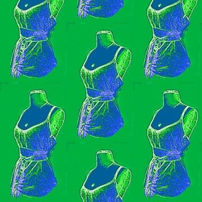 dress form 2 green