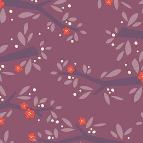L'Amour Toujours Purple Blossoms