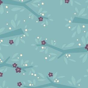 L'Amour Toujours Blue Blossoms