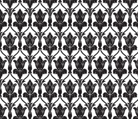 Black & White Walls of 221b Baker Street