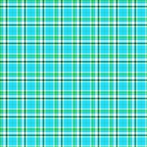 Tropical Ocean Plaid-ed