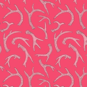 Antlers Hot Pink