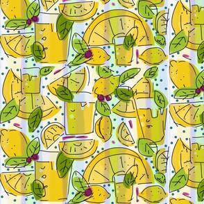 Lemon Fizz Large