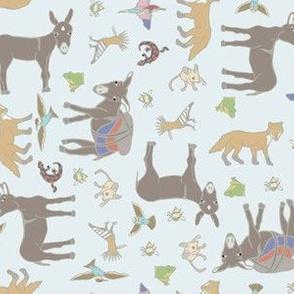 Little Burro & friends fabric