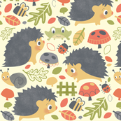 Fall Hedgehogs