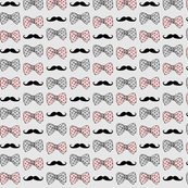 bow_and_mustache_pattern