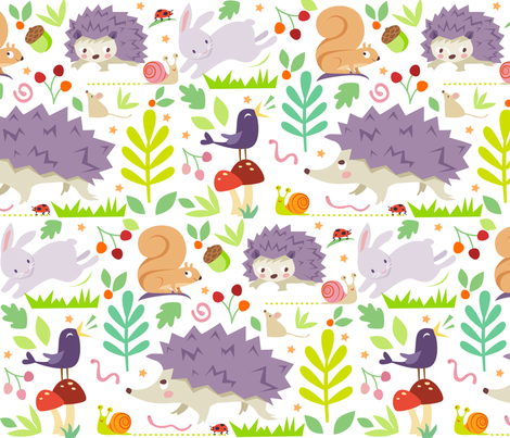 hedgehog and friends