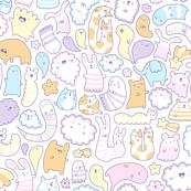 Dreamy Pastel Doodle