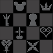 Kingdom Hearts - Black Icons