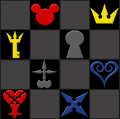 Kingdom Hearts - Color Icons
