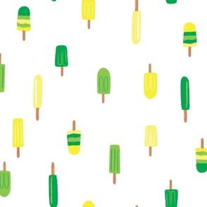 Summer Popsicles - Lime