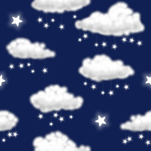 Star Rain (navy)