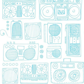 Boom boxes, Drawing