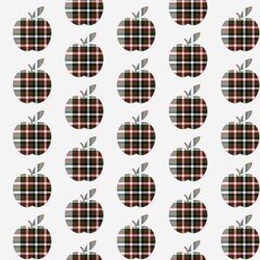 Plaid Apples
