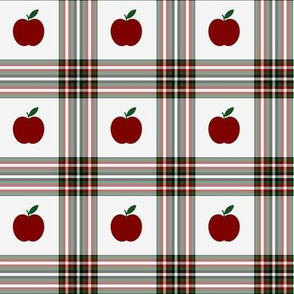 Apple plaid