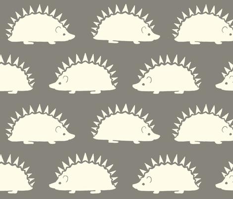 Hedgeasaurus! in Grey