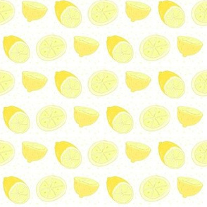 lemons-yellow polka dots-SMALL