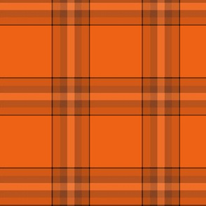 Pumpkin plaid - e