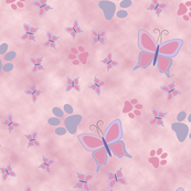 Butterfly & Pawprint