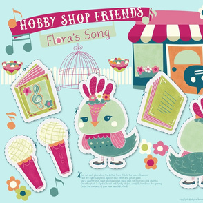 Hobby Shop Friends- Flora