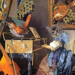 Music Hath Charms: Vermeercat I