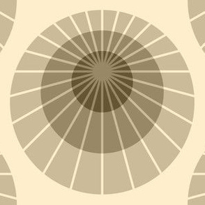 mod mollusca - coffee cream ivory brown