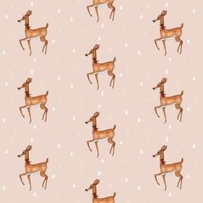 Christmas Deer Fawn
