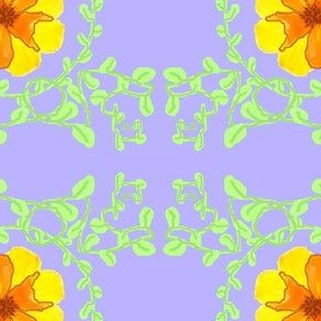 Yellow Flower on Sky Blue